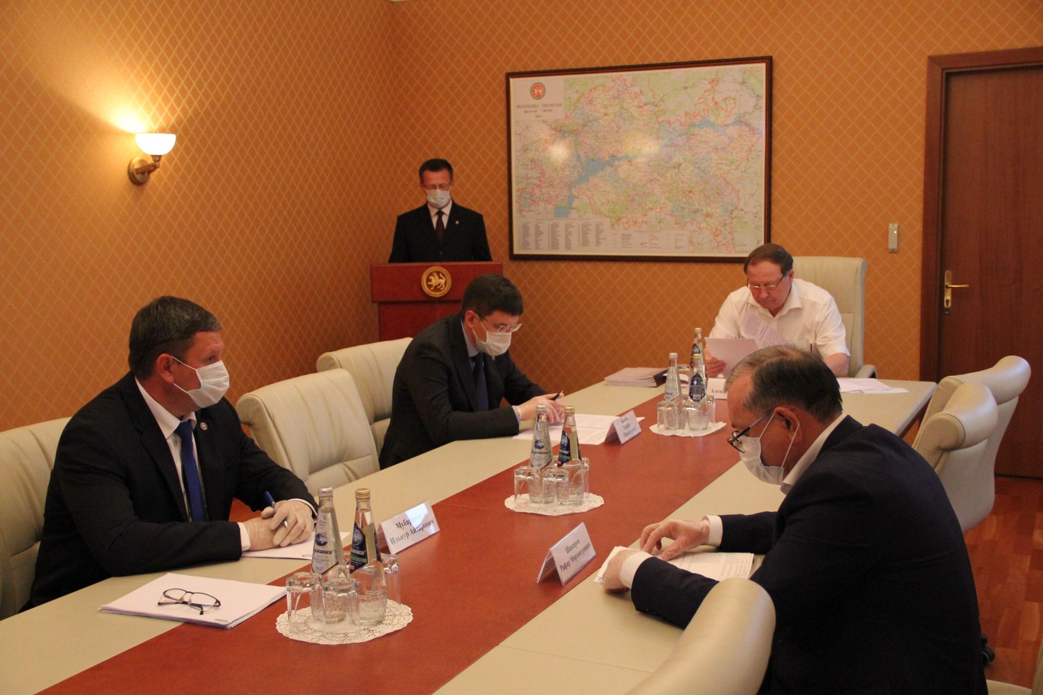 Заседание Коллегии Счетной палаты Республики Татарстан (17 июля 2020 года)