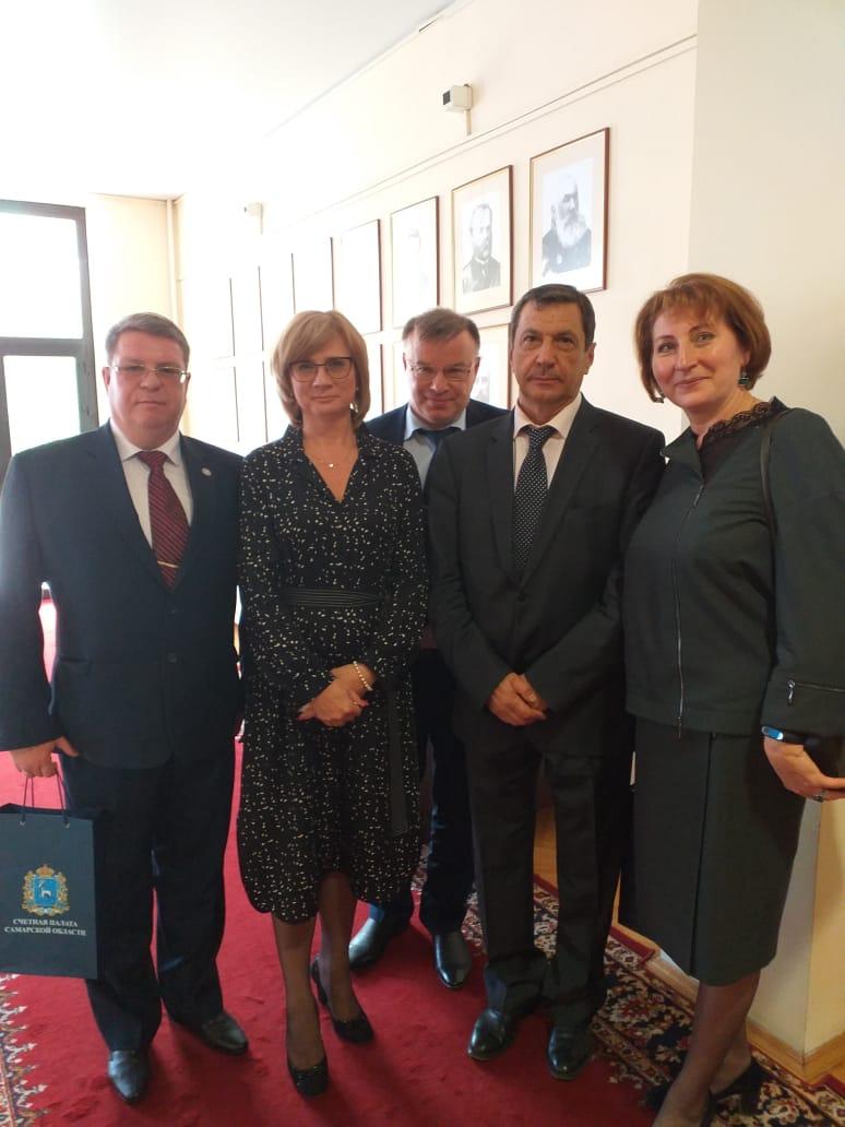 Торжественное заседание, посвященном 25-летию образования Счетной палаты Самарской области (25 сентября 2020 г., г.Самара)
