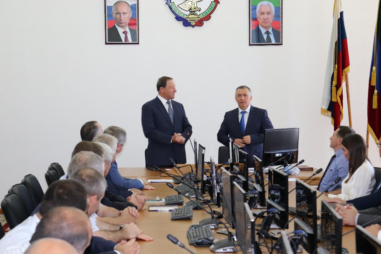 Заключение соглашения о сотрудничестве между счетными палатами Республики Дагестан и Республики Татарстан (4 сентября 2019 г.)
