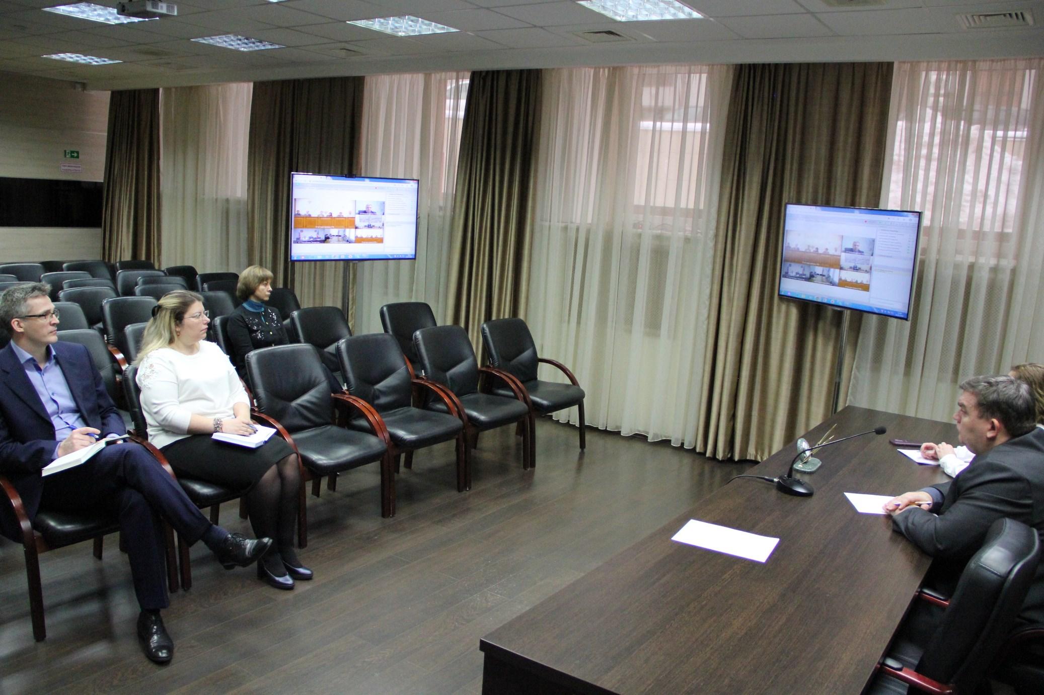 Участие сотрудников Счетной палаты Татарстана в видеоконференциях, организованых Счетной палатой РФ на интернет-портале контрольно-счетных органов России (февраль 2020 г.)