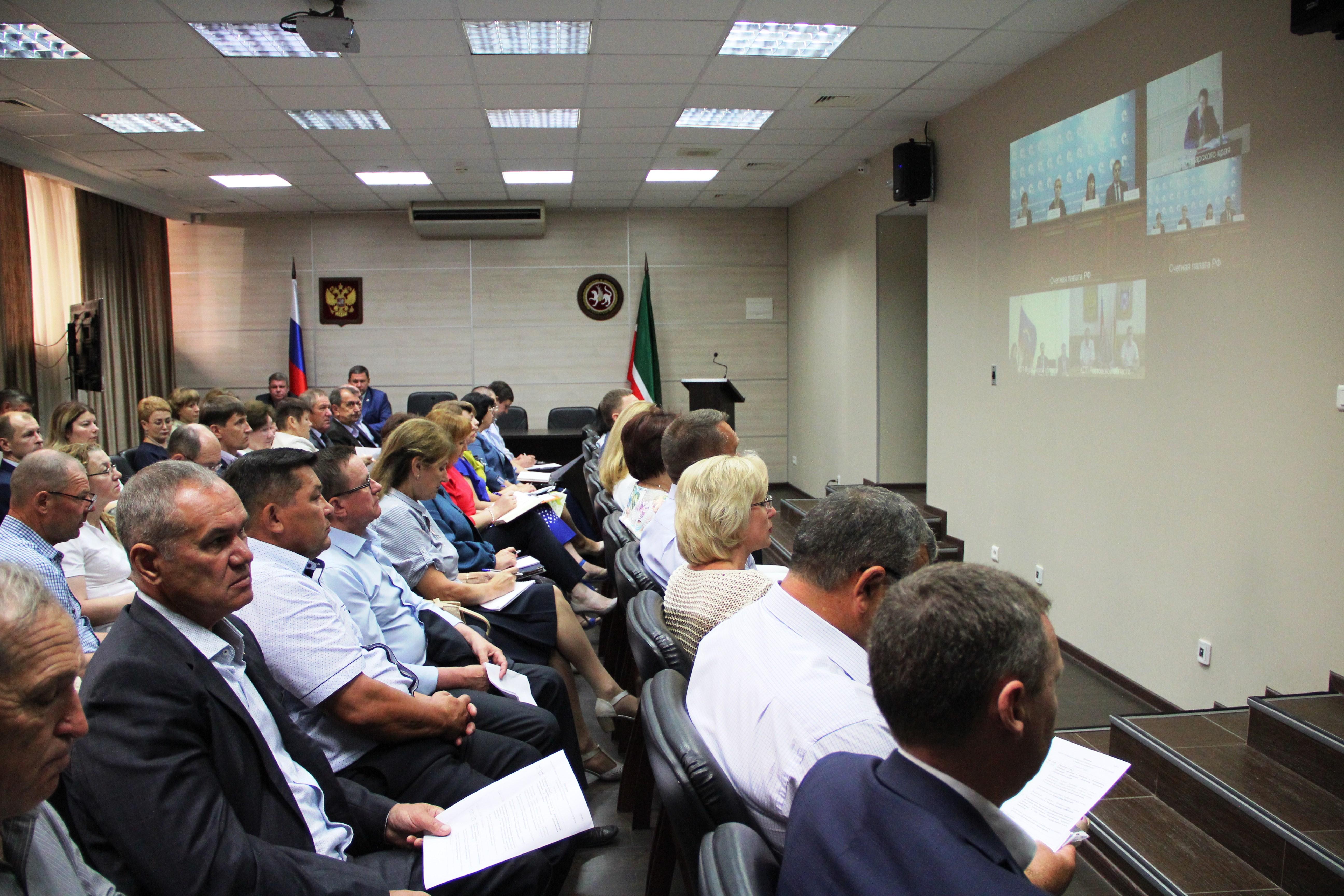 Обучающающий семинар для контрольно-счетных органов субъектов Российской Федерации. (26.06.2019г.)