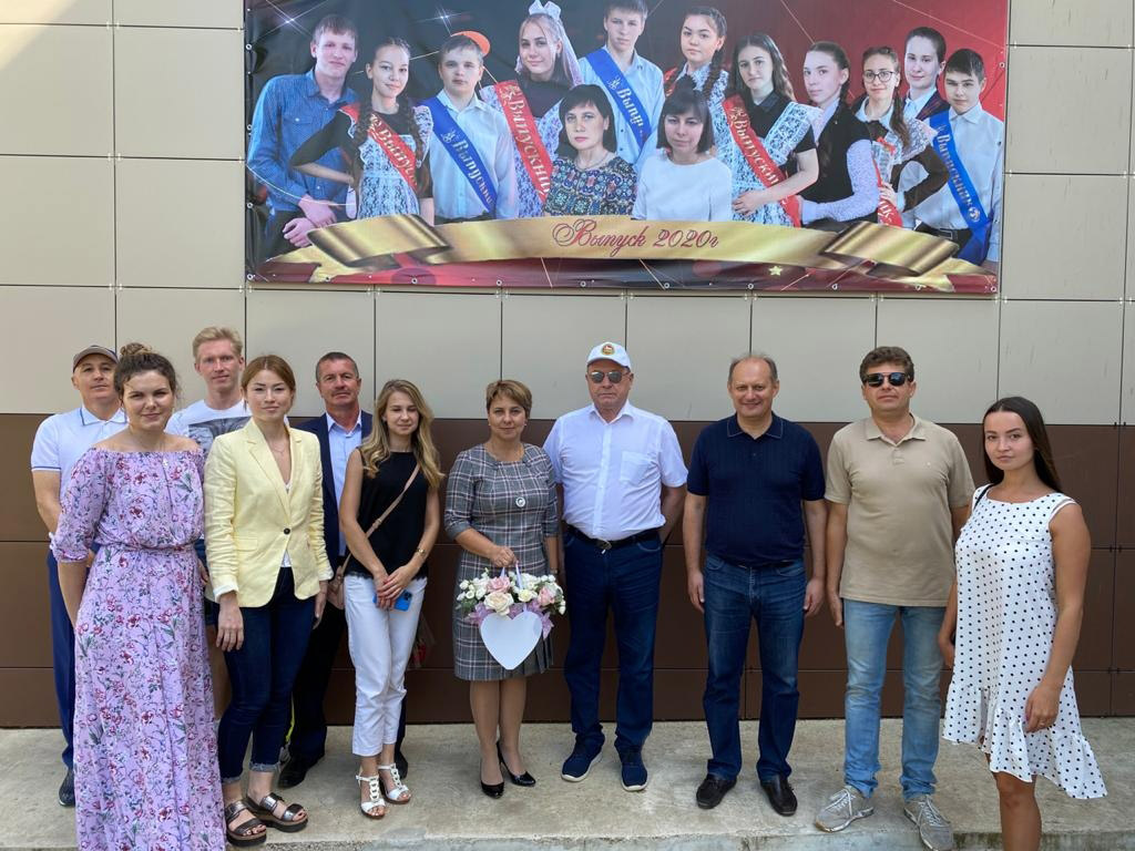 1 сентября 2020 года в Среднедевятовской школе Лаишевского муниципального района