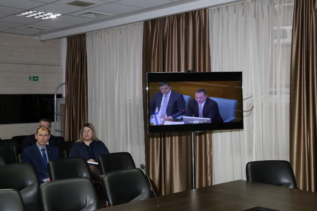 Участие сотрудников Счетной палаты Татарстана в видеоконференциях, организованых Счетной палатой РФ на интернет-портале контрольно-счетных органов России (ноябрь 2019 г.)